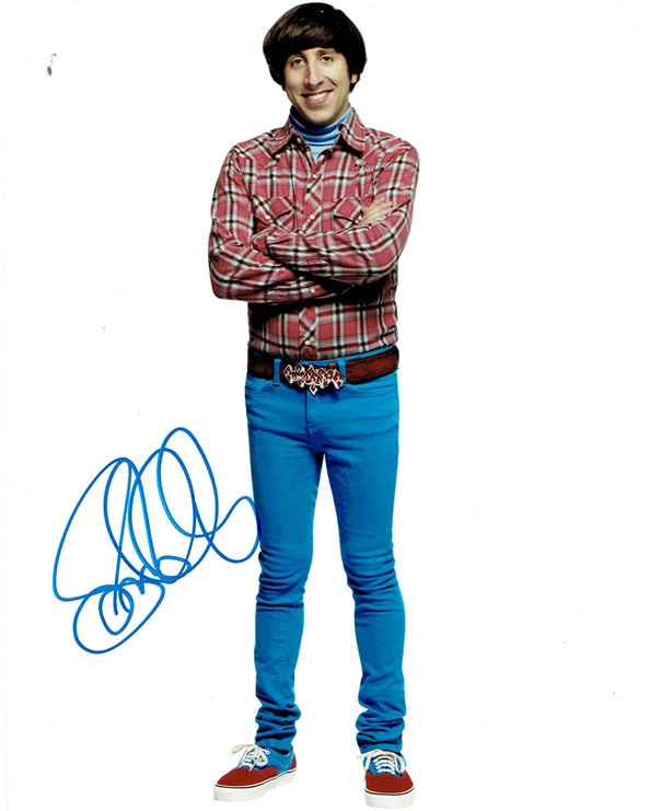 Simon Helberg Signed Photo