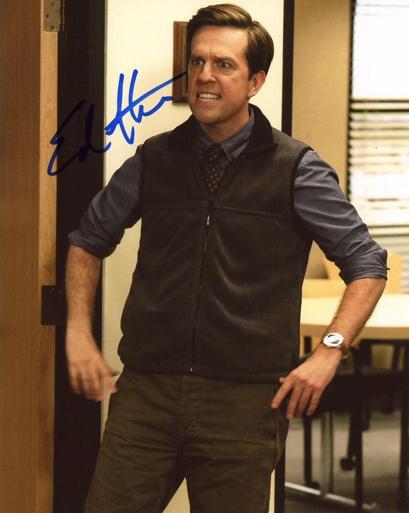 Ed Helms Signed Photo
