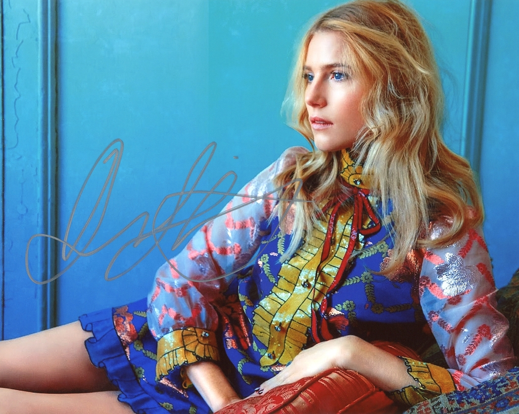 Dree Hemingway Signed Photo