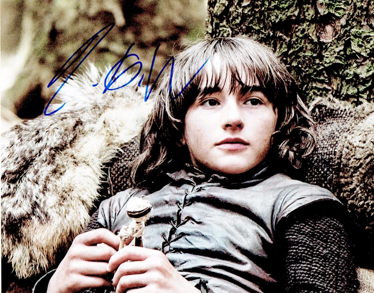 Isaac Hempstead-Wright Signed Photo