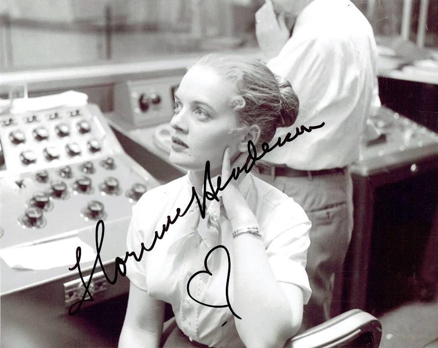 Florence Henderson Signed Photo