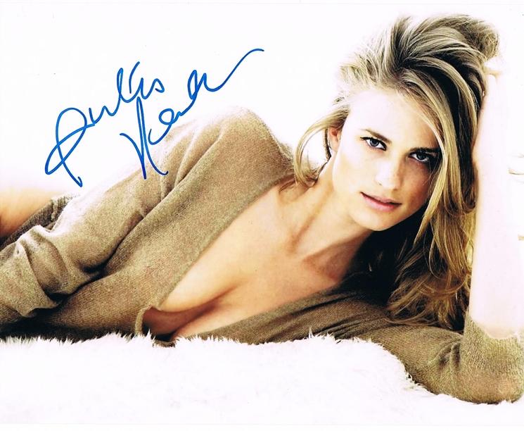 Julie Henderson Signed Photo