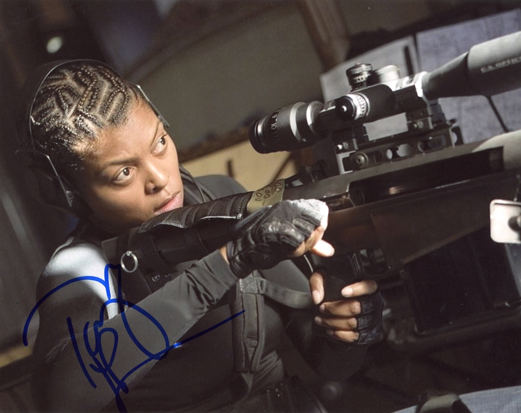 Taraji P. Henson Signed Photo