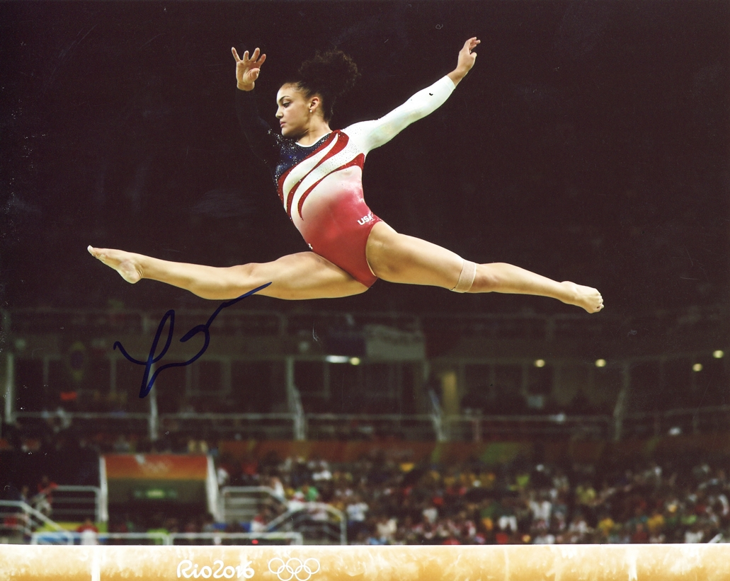Laurie Hernandez Signed Photo
