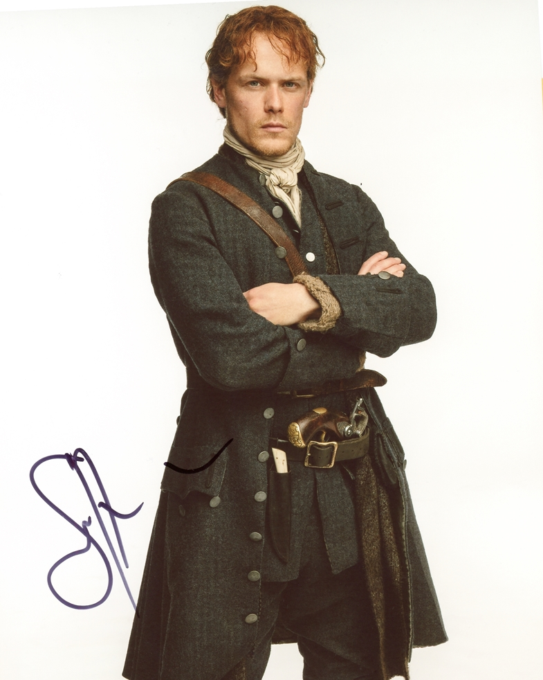 Sam Heughan Signed Photo