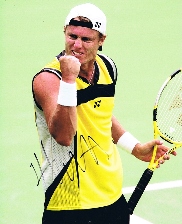 Lleyton Hewitt Signed Photo