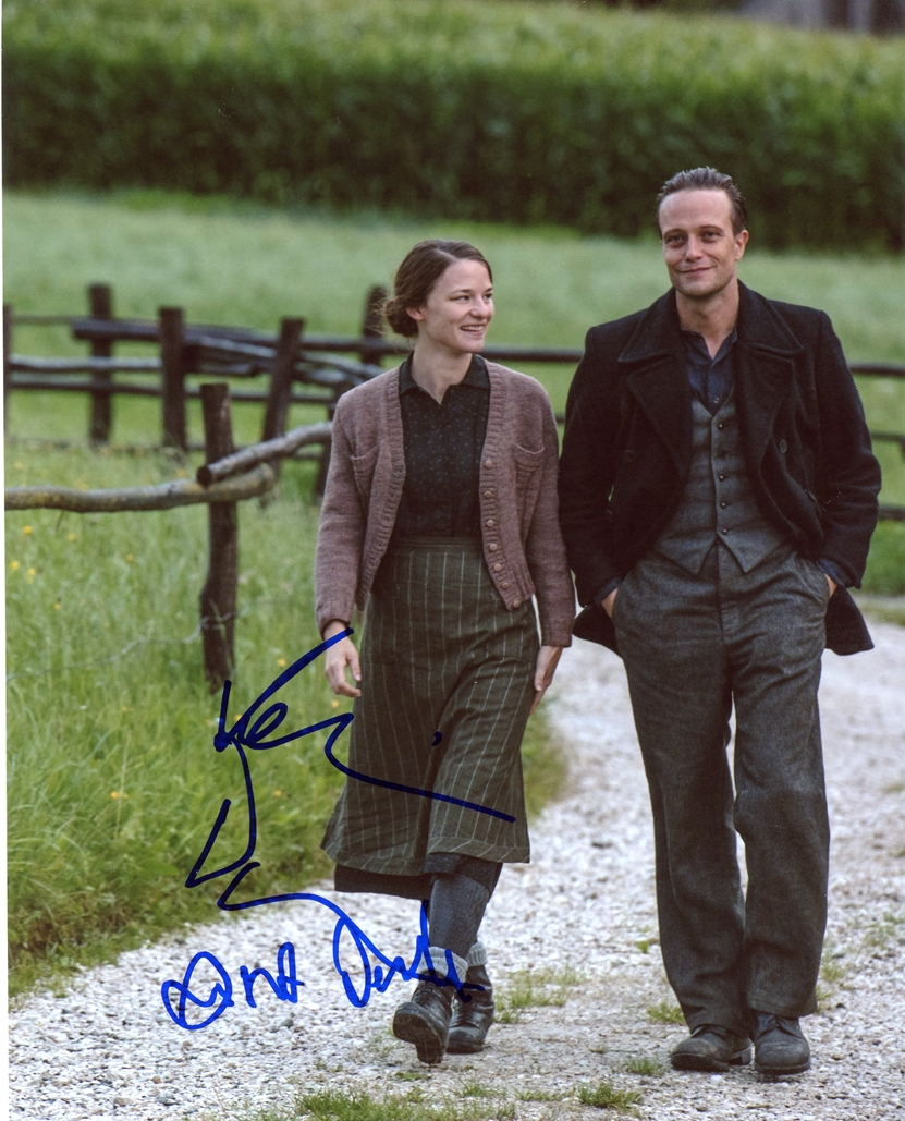 Valerie Pachner & August Diehl Signed Photo