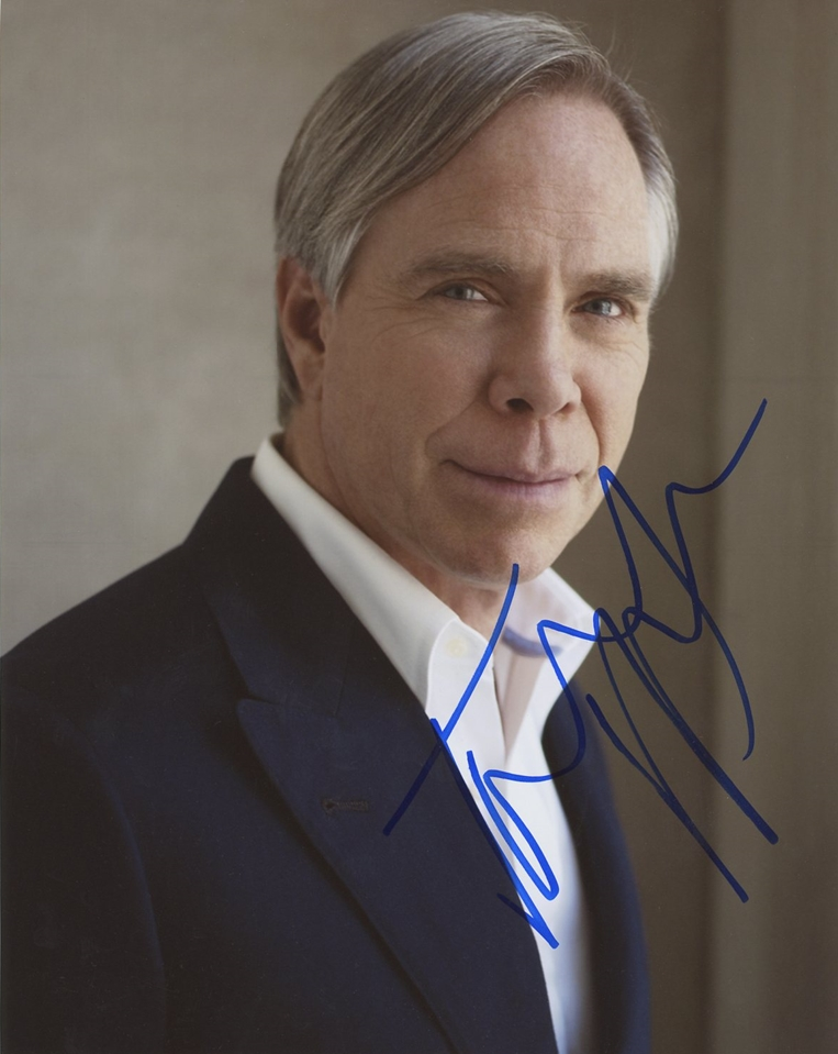 Tommy Hilfiger Signed Photo