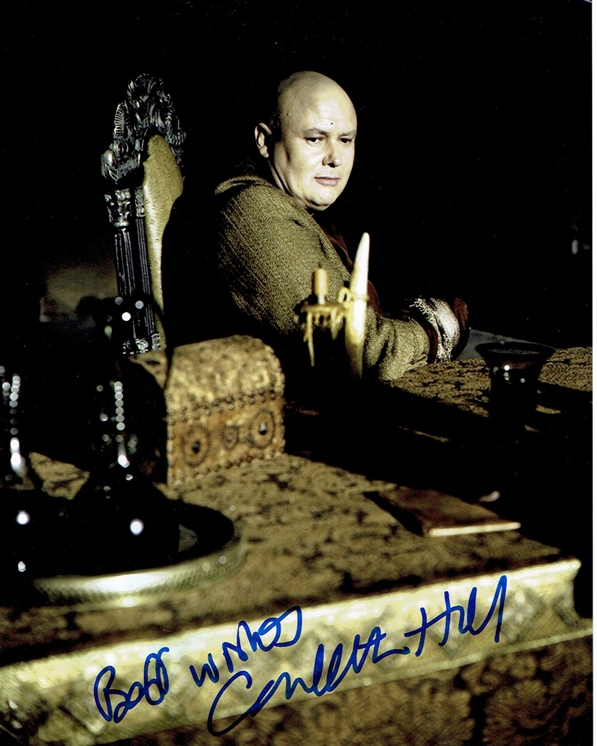 Conleth Hill Signed Photo