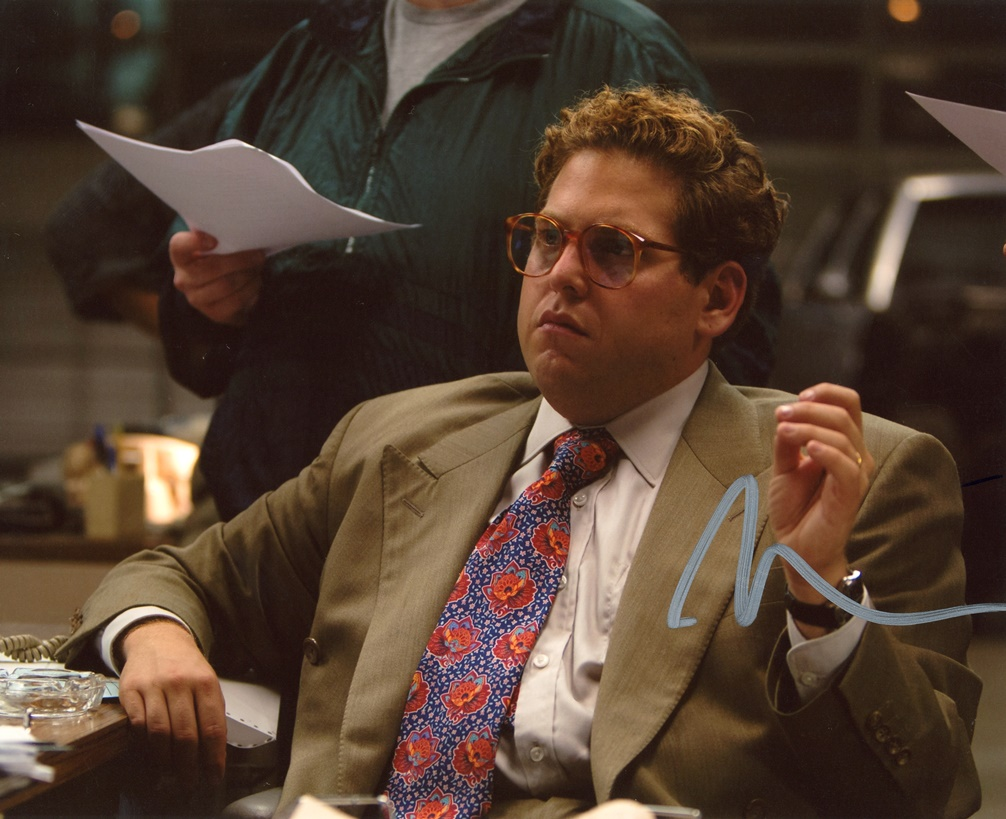 Jonah Hill Signed Photo
