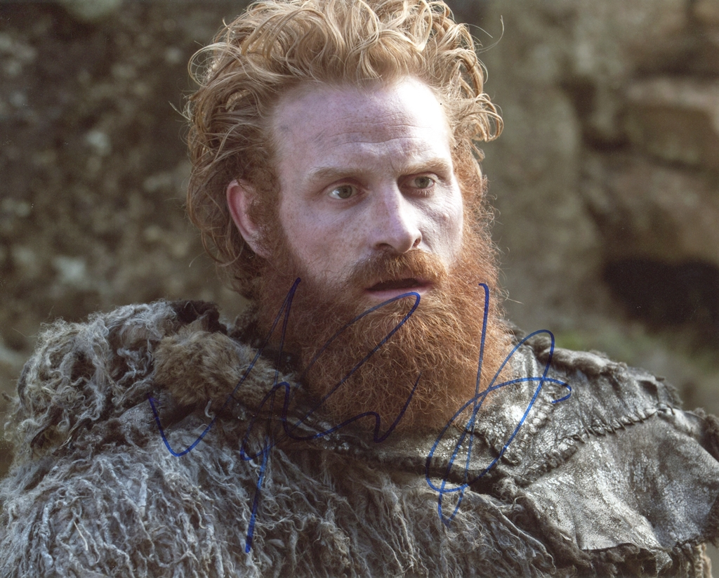 Kristofer Hivju Signed Photo