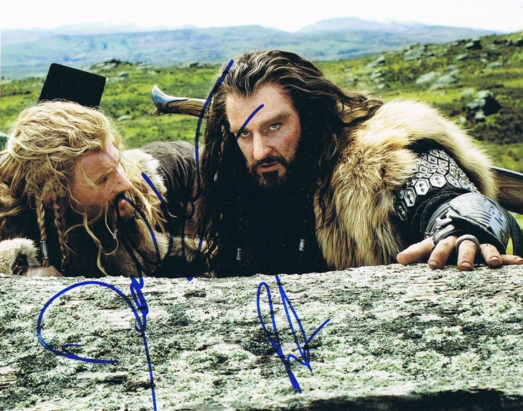 Richard Armitage & Dean O'Gorman Signed Photo