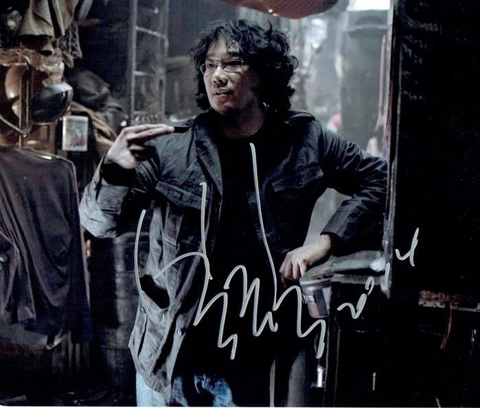 Bong Joon-ho Signed Photo