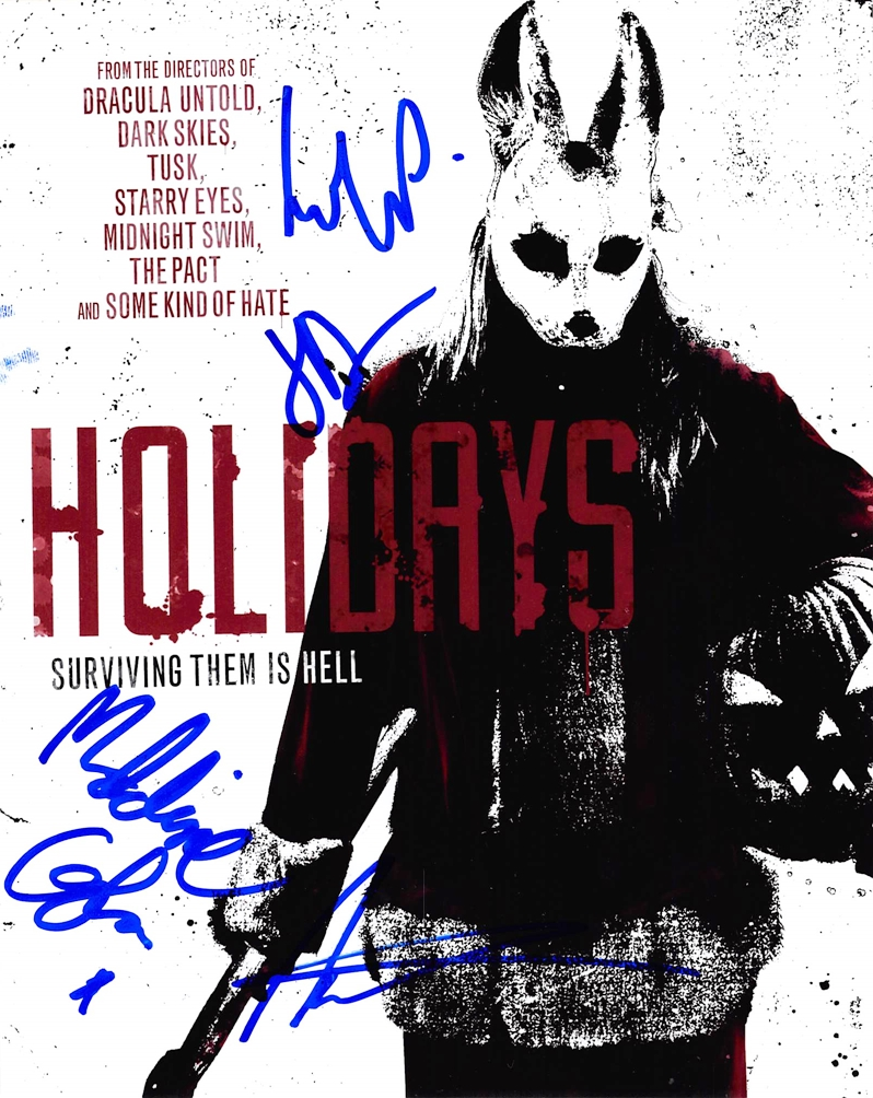 Holidays Signed Photo