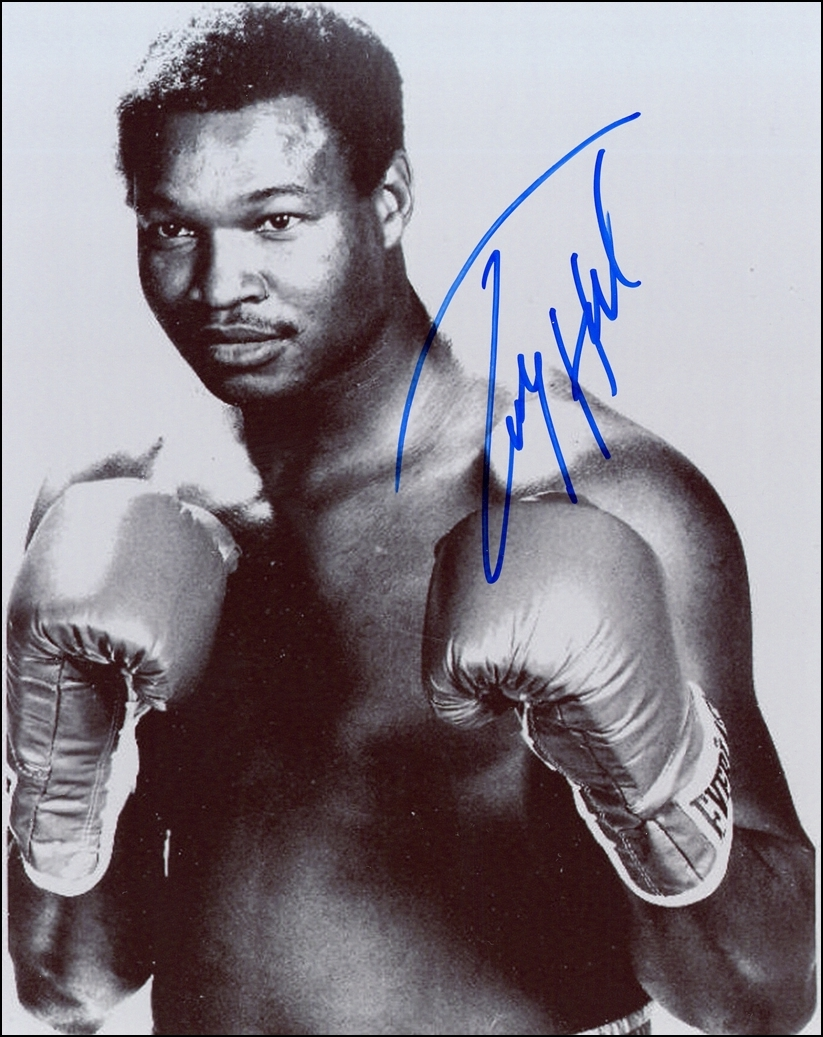 Larry Holmes Signed Photo