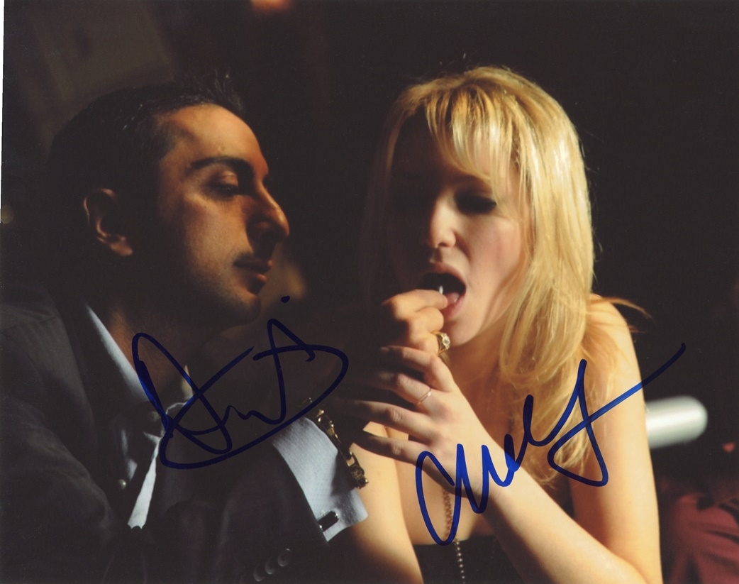 Ari Graynor & Danny Beckaser Signed Photo