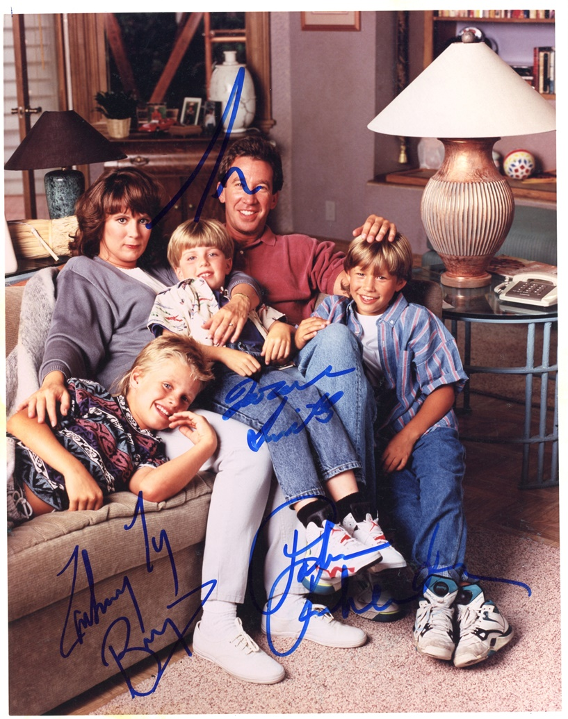 Home Improvement Signed Photo