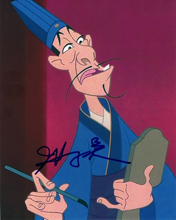 James Hong Signed Photo