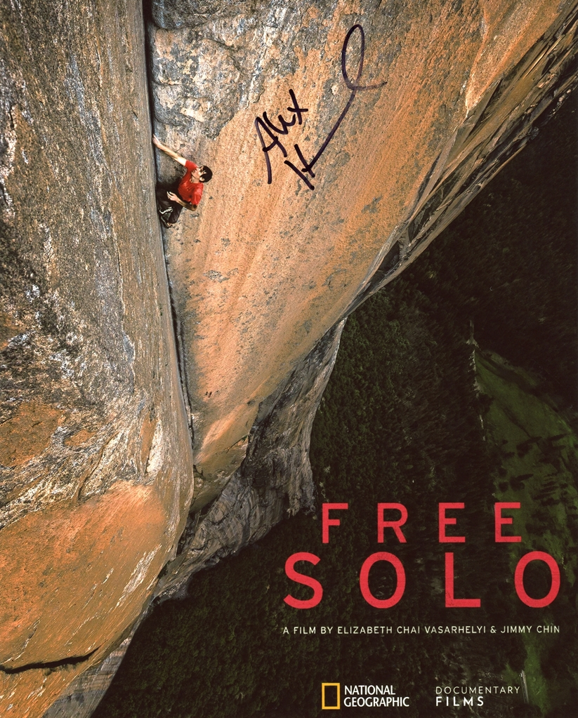 Alex Honnold Signed Photo