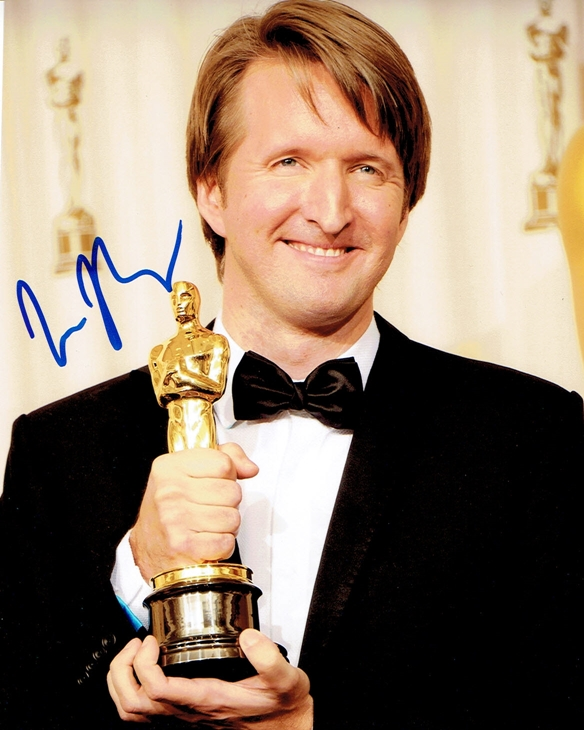 Tom Hooper Signed Photo