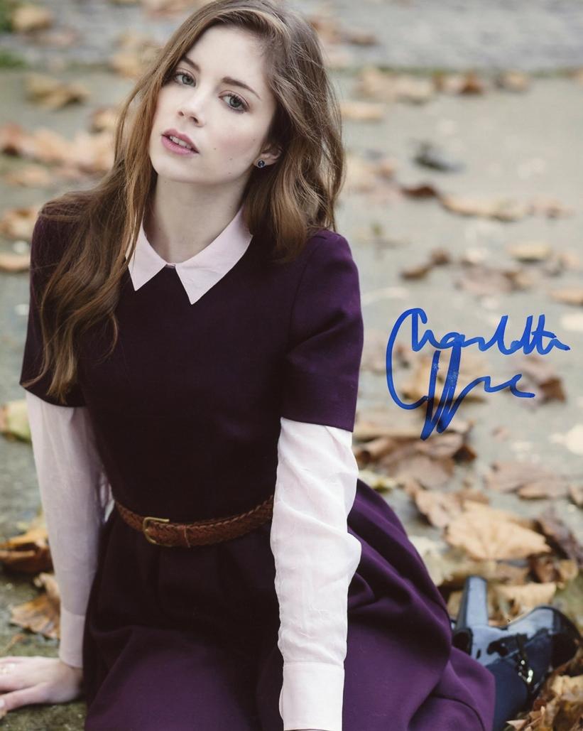 Charlotte Hope Signed Photo