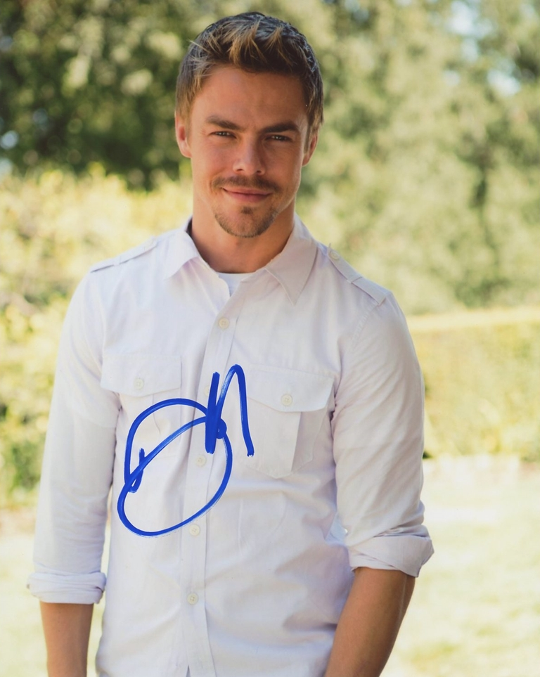 Derek Hough Signed Photo