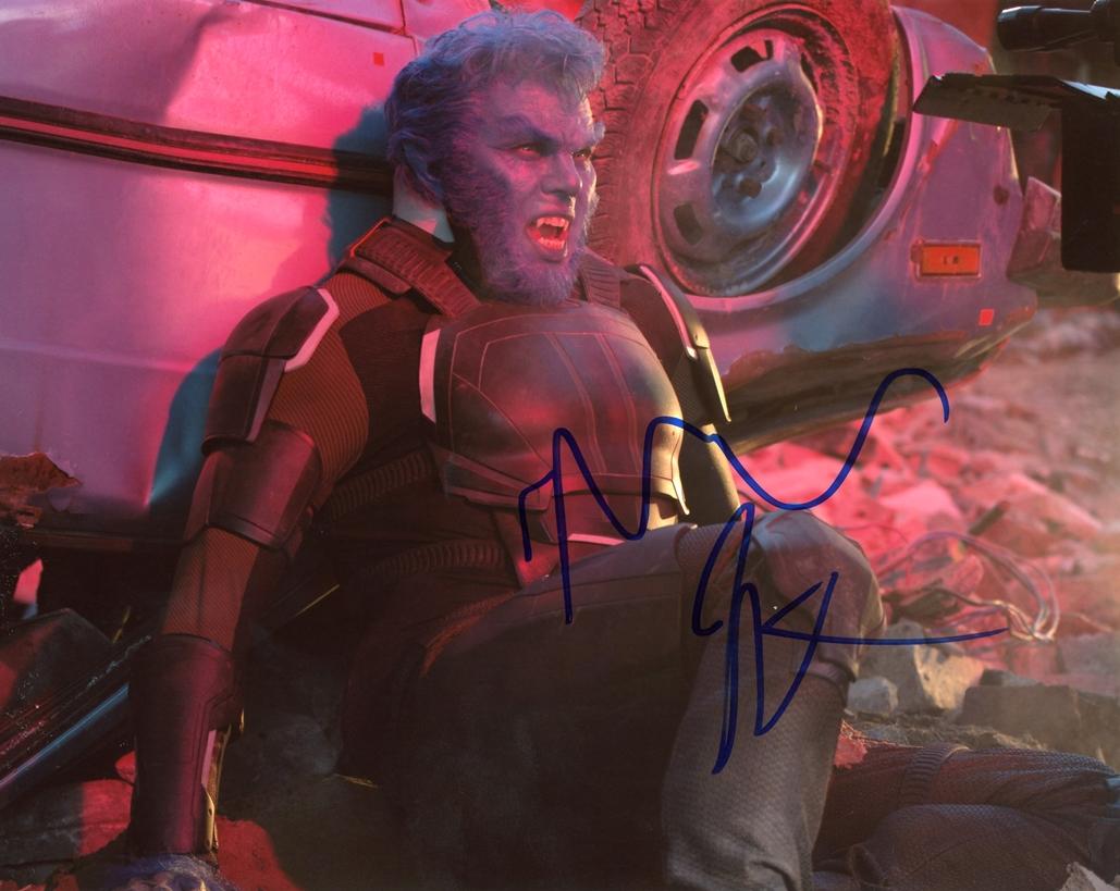 Nicholas Hoult Signed Photo
