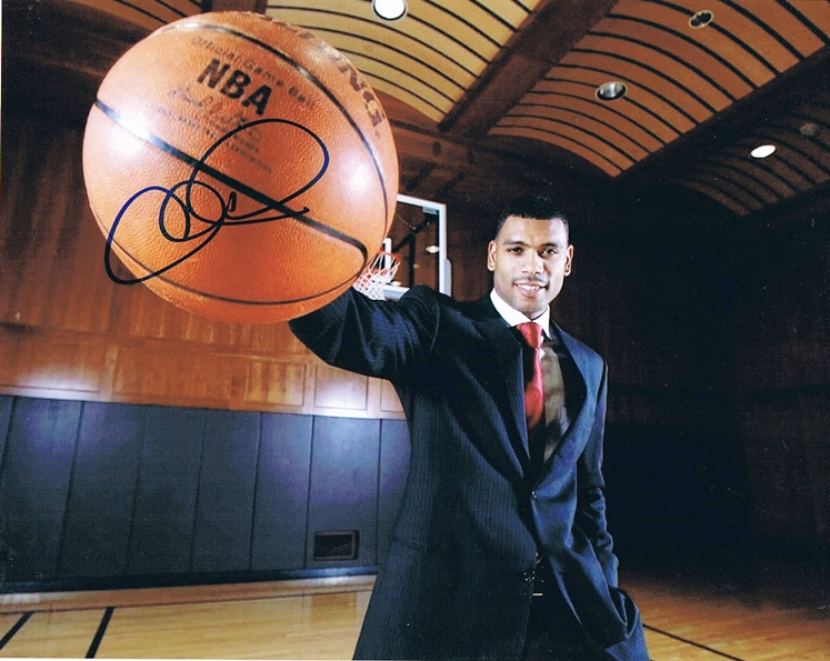 Allan Houston Signed Photo