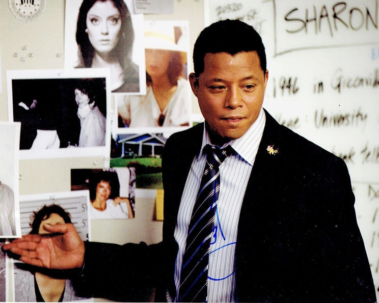 Terrence Howard Signed Photo