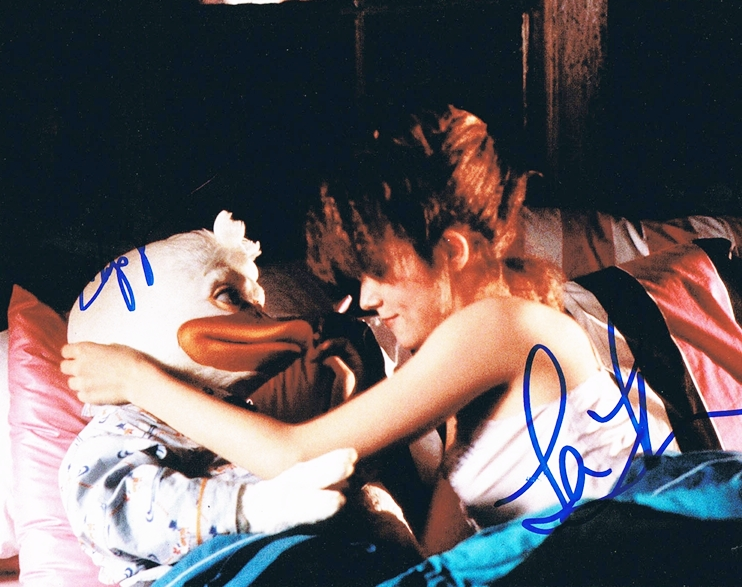 Chip Zien & Lea Thompson Signed Photo