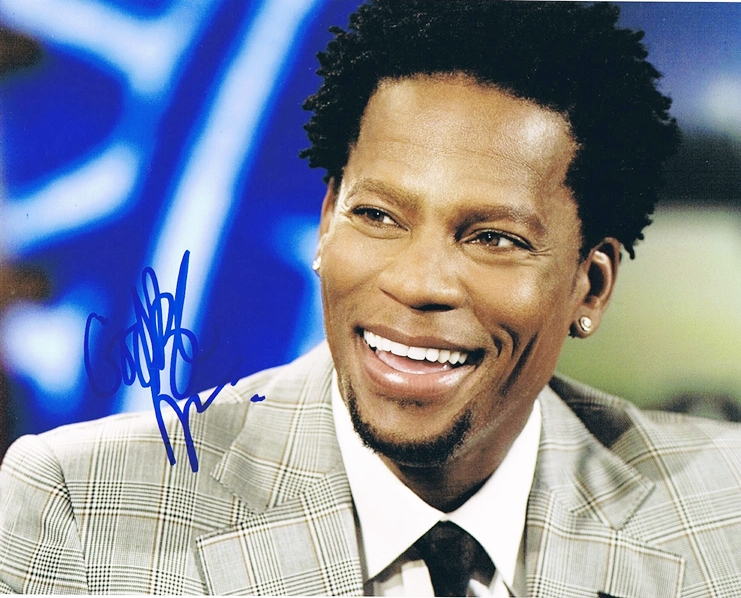 DL Hughley Signed Photo