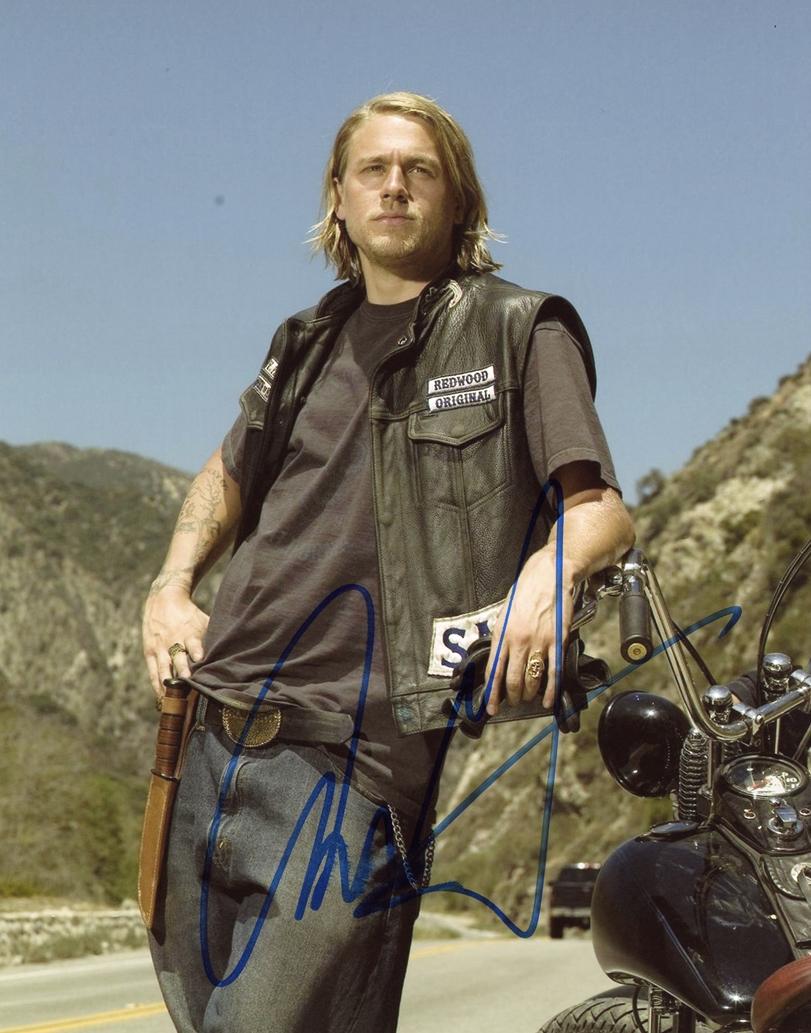 Charlie Hunnam Signed Photo