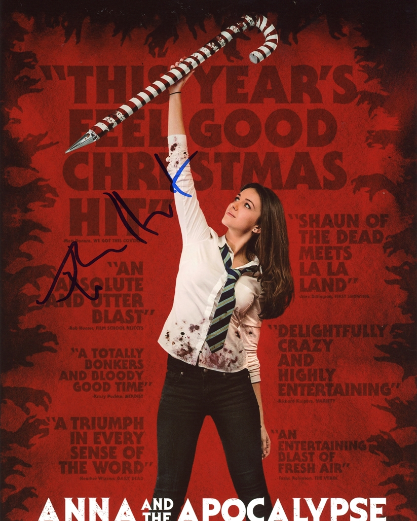 Ella Hunt Signed Photo