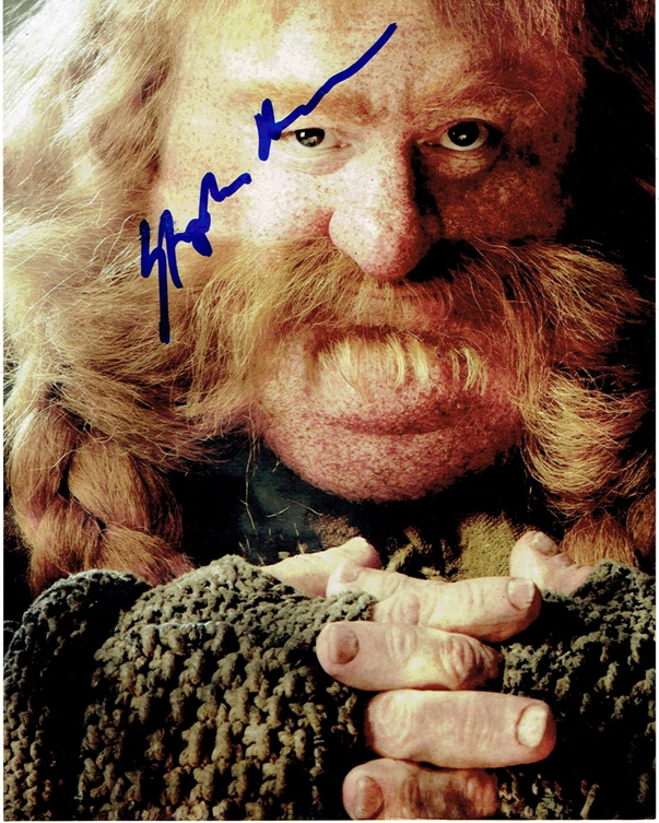 Stephen Hunter Signed Photo