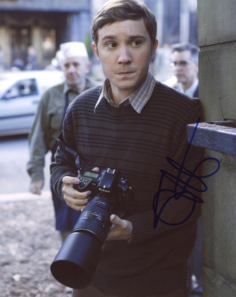 Sam Huntington Signed Photo
