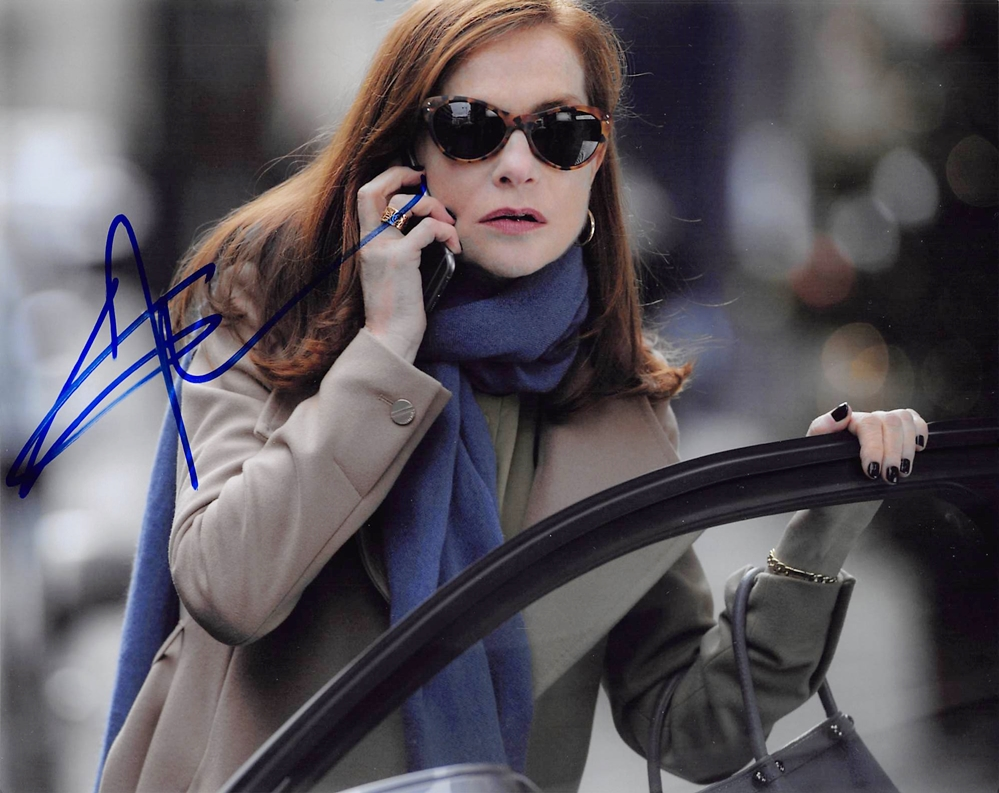 Isabelle Huppert Signed Photo