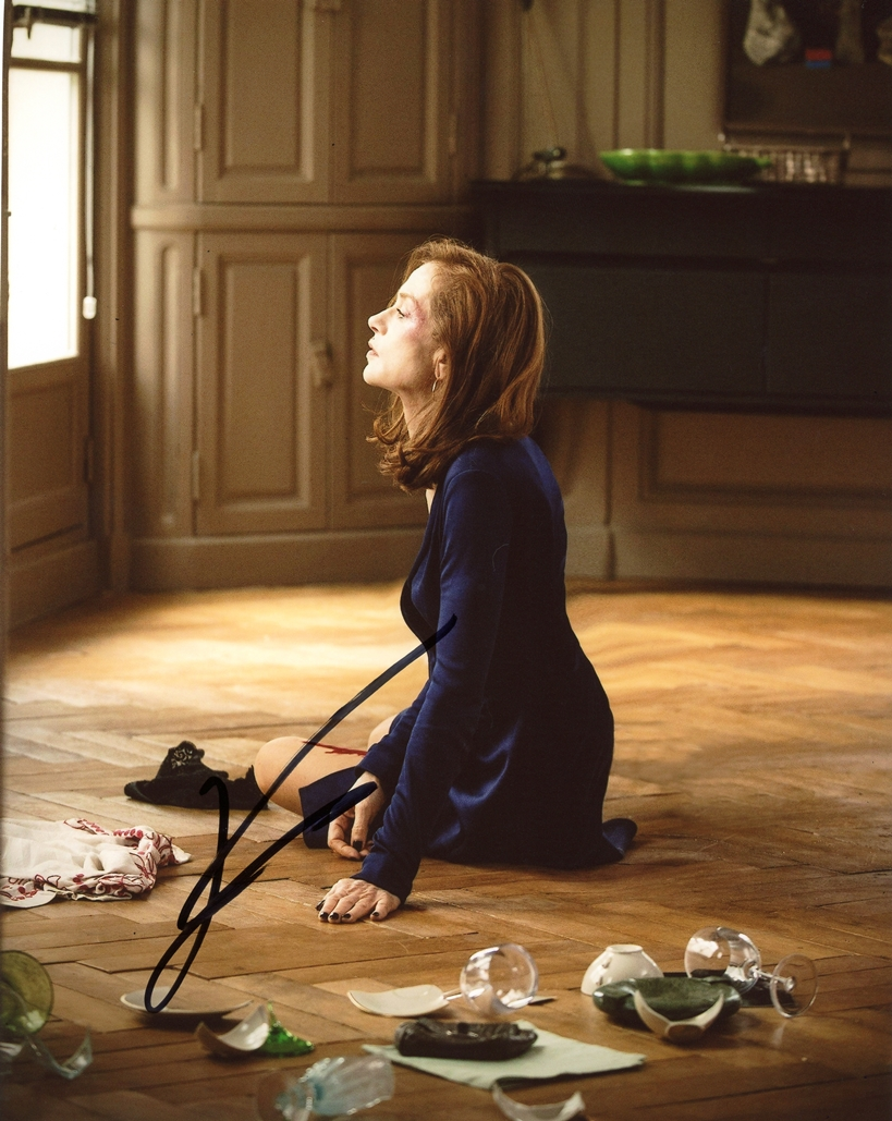 Isabell Huppert Signed Photo