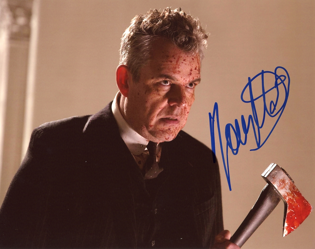 Danny Huston Signed Photo