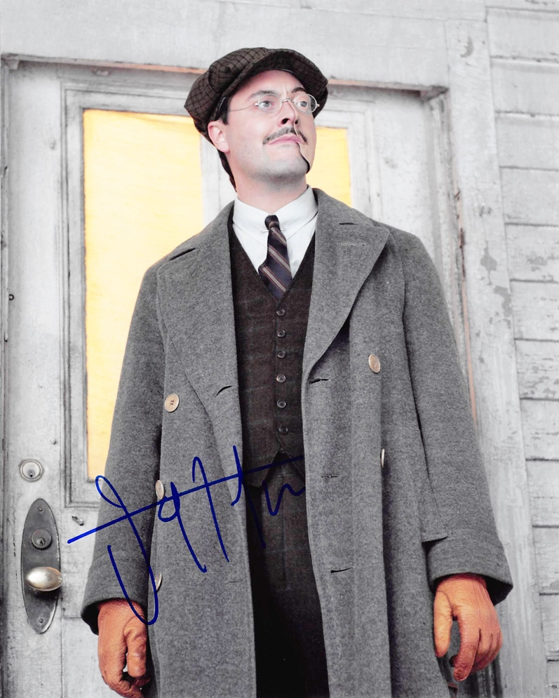 Jack Huston Signed Photo