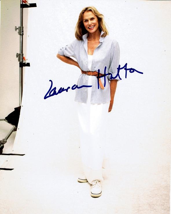 Lauren Hutton Signed Photo