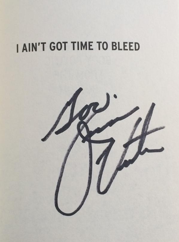 Jesse Ventura Signed Book