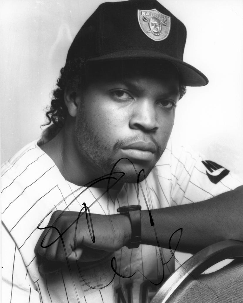 Ice Cube Signed Photo