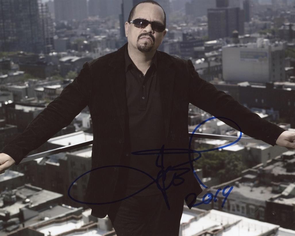 Ice T Signed Photo