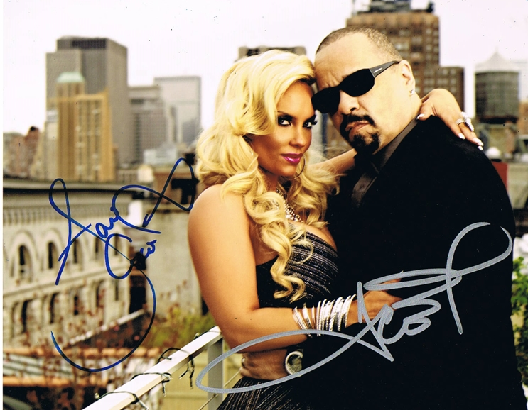 Ice T & Coco Signed Photo