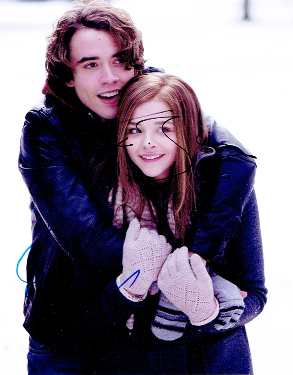 Chloe Moretz & Jamie Blackley Signed Photo