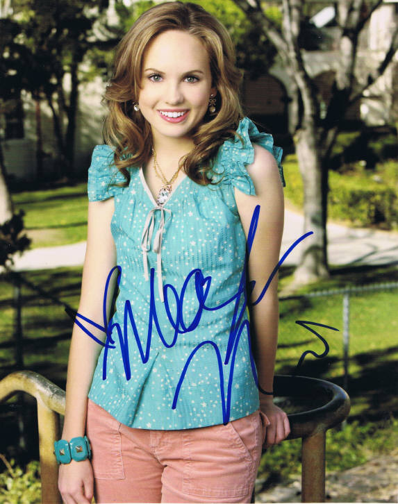 Meaghan Martin Signed Photo