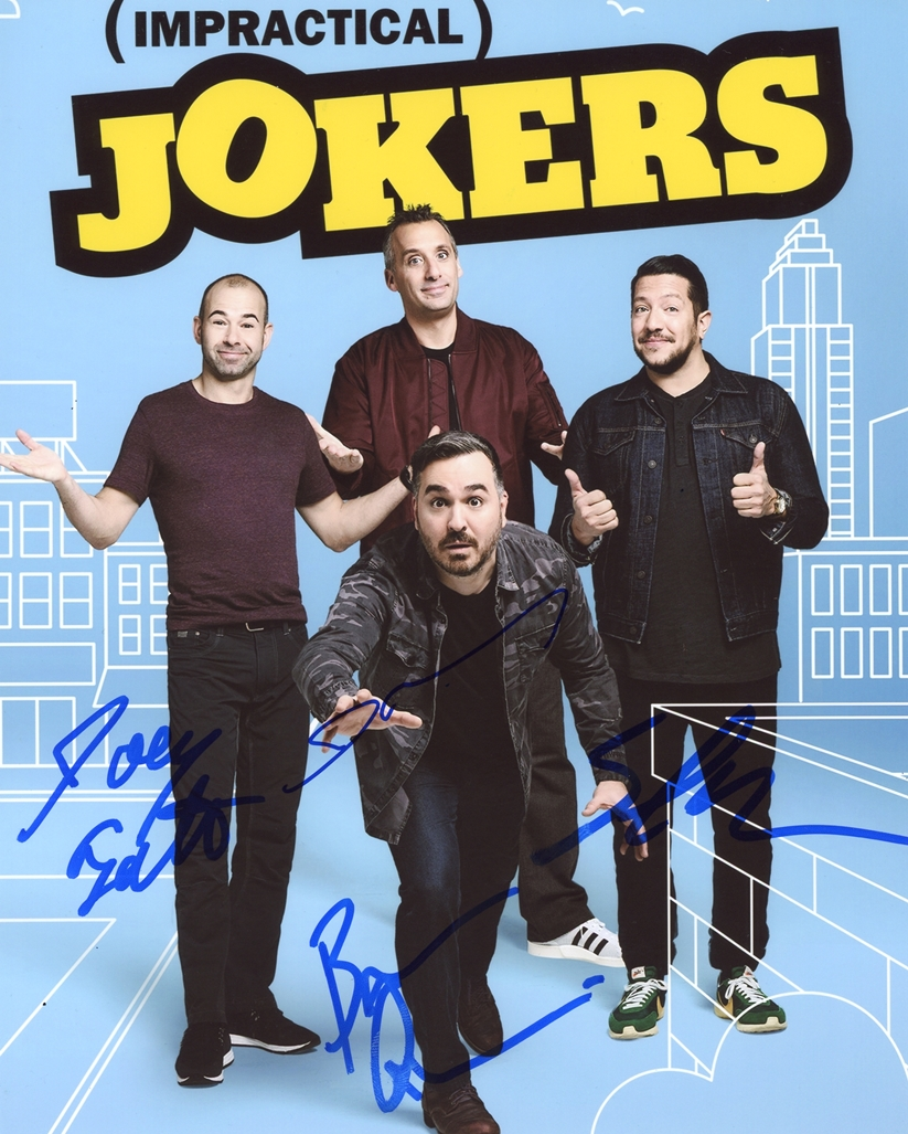 Impractical Jokers Signed Photo
