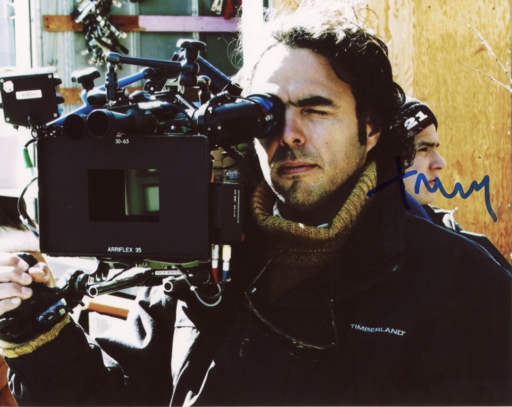 Alejandro Gonzalez Inarritu Signed Photo