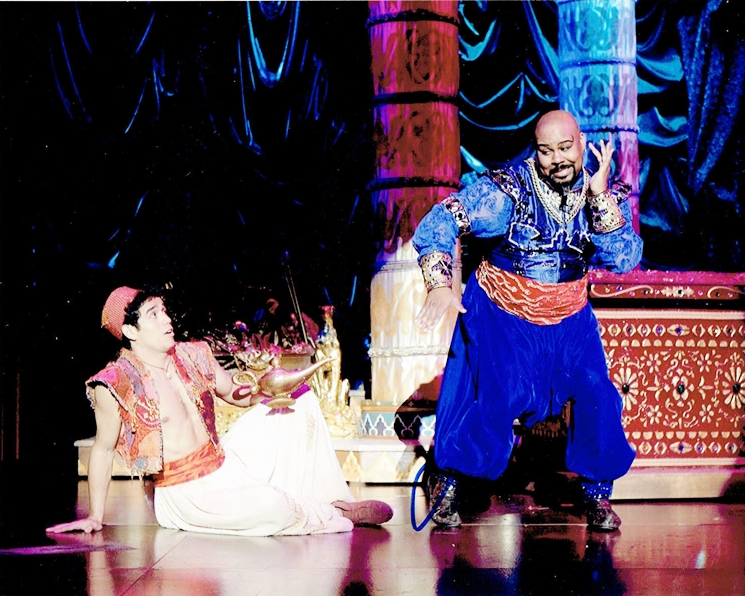 James Monroe Iglehart Signed Photo