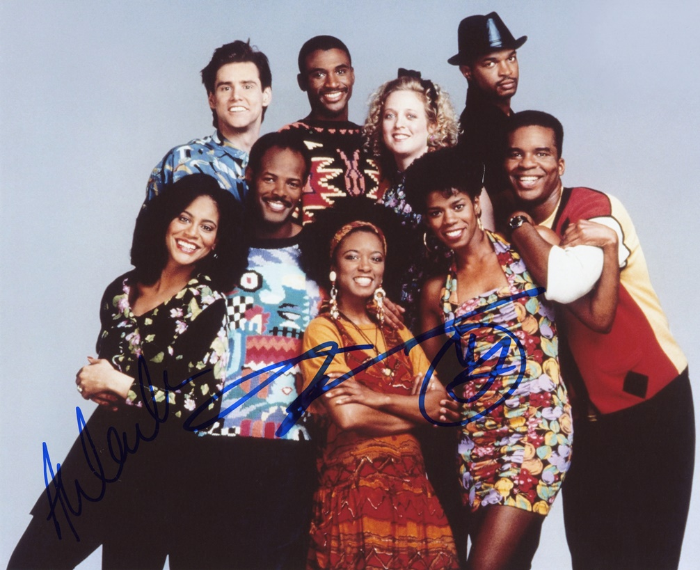 In Living Color Signed Photo